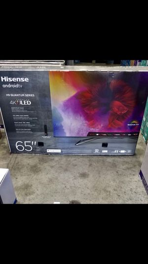 65 INCH HISENSE Class H9 Quantum Series Android 4K ULED for Sale in Chino, CA