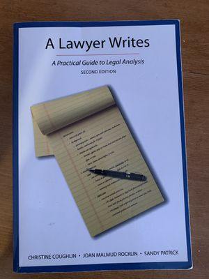 A Lawyer Writes for Sale in Riverside, CA