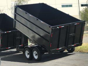 2018 Dump Trailer 8x12x4 for Sale in San Bernardino, CA