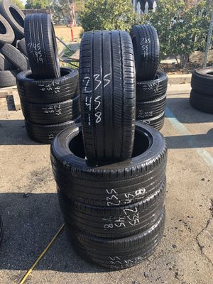 235/45/18 used tires 235-45-18 llantas usadas for Sale in Fontana, CA
