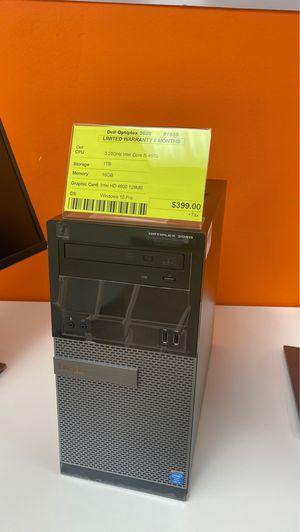 Dell Optiplex 3020-3.2Ghz Core i5-16GB RAM 1TB HDD -Win 10 for Sale in Los Angeles, CA