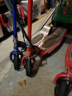 2 Razor Electric Scooters for Sale in Brooklyn Park, MN