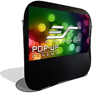 Pop-up Cinema Portable Outdoor Fast Folding Projector Screen Self Standing 84-inch 16: 9 for Sale in Torrance, CA