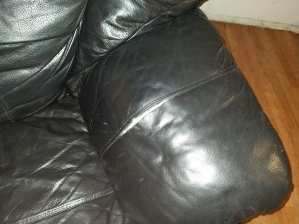 Two Seat Leather Sofa