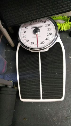 Health o meter oversized dial weight scale for Sale in Los Angeles, CA