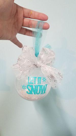 Handcrafted Christmas bulb for Sale in Virginia Beach, VA