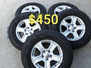 "2019 17"" JEEP WRANGLER JL 5 PCS WHEELS RIMS 100% Tires for Sale in Torrance, CA"