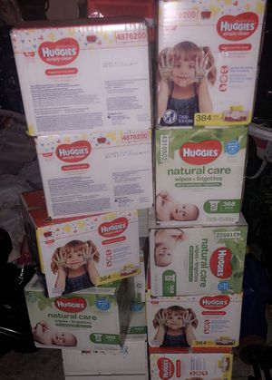 Huggies wipes for Sale in Berkeley Township, NJ