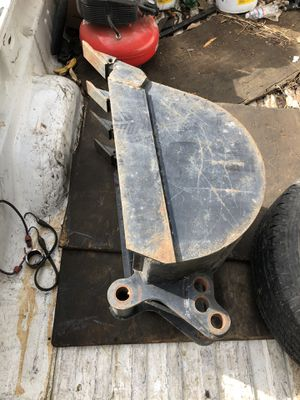 "Tractor Backhoe 20"" bucket with teeth, barely used for Sale in Sacramento, CA"