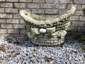 Large cement planters for Sale in Brentwood, TN
