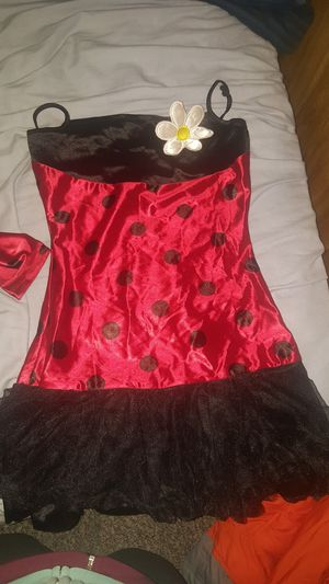 Pretty lady bug costume size 9 for Sale in West Jordan, UT