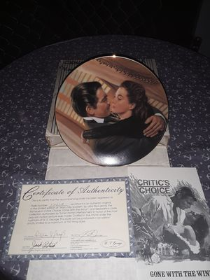 "Vintage W.S. George Fine China- Gone With the Wind- ""Marry Me, Scarlett!"" Collector's Plate for Sale in Phoenix, AZ"