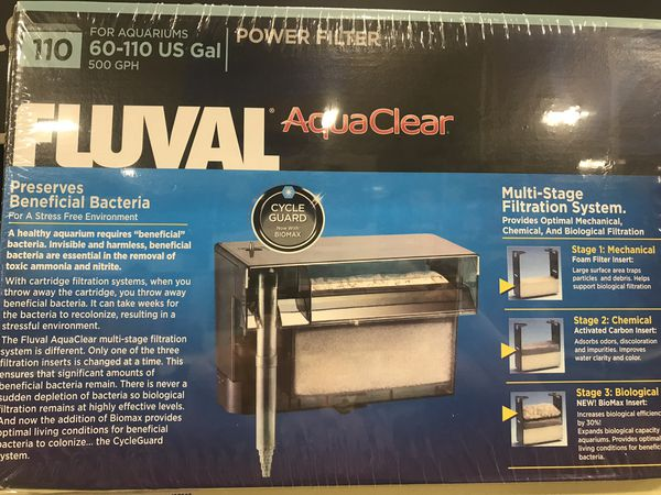 New Fluval 110 power Filter