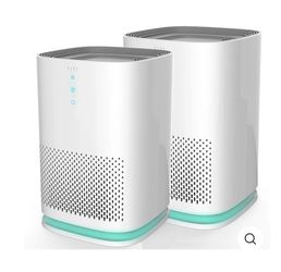 2 PACK AIR PURIFIERS MEDIFY AIR MA-14. White And Black Color . for Sale in Los Angeles,  CA