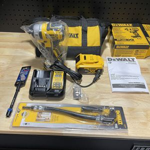 DeWalt XR Brushless 3-Speed Impact Kit With Extras for Sale in Archbald, PA