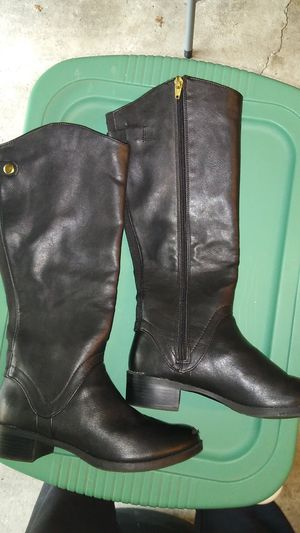 MERONA Tall Black Riding Boots Women for Sale in Dublin, OH