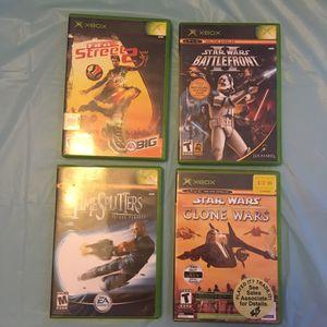 Xbox Games - FIFA Street 2 | Star Wars Battlefront 2 | Timesplitters 3 | Clone Wars / Tetris Worlds for Sale in Wichita, KS