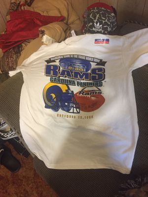 FIRST 1995 Opening Game Rams Shirt for Sale in St. Louis, MO