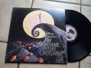 Collection Vynal disc nightmare before Christmas & beauty and the beast for Sale in El Paso, TX