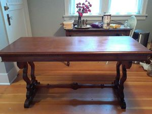 Antique Wood Trestle Table for Sale in Seattle, WA