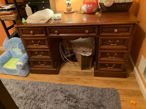 Solid Wood Desk for Sale in Jamesburg, NJ