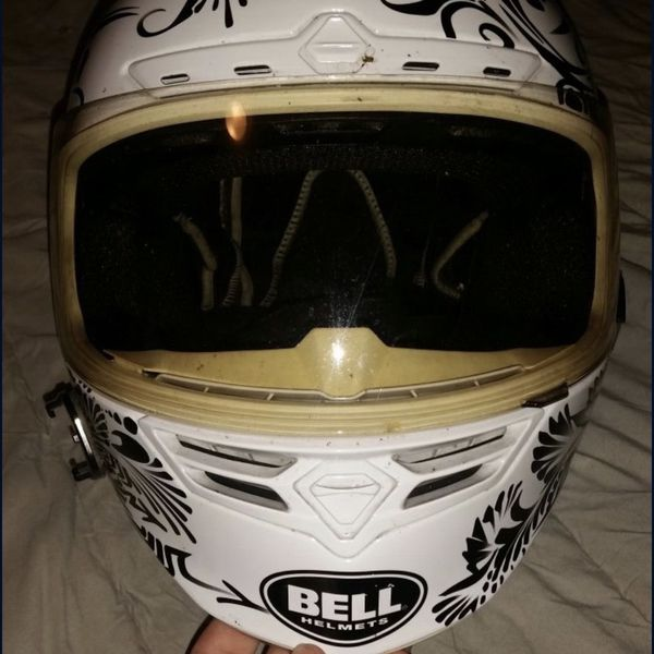 Bell limited edition motorcycle helmet