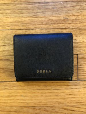Furla black small wallet for Sale in Chatham Township, NJ