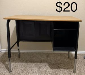 Desk with storage for Sale in Plano, TX