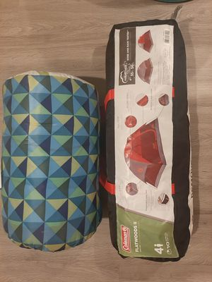 Coleman tent & sleeping bag for Sale in Columbia, MD