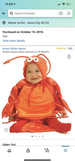 Crab costume for Sale in Grove City, OH