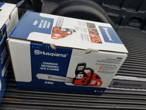 Husqvarna chainsaw for Sale in Suffolk, VA