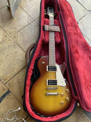 Satin iced teaburst Gibson les Paul tribute with softcaae and strap for Sale in Walnut, CA