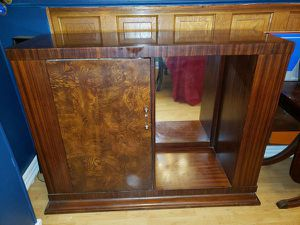 Large Wood Mahogany Server/ Bar for Sale in Lorain, OH