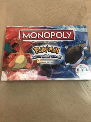 Monopoly Pokémon Kanto Edition Board Game Complete BRAND NEW SEALED for Sale in Lodi, NJ