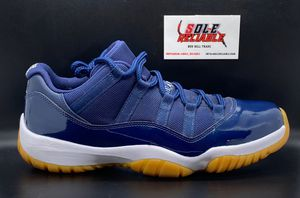 Jordan 11 Retro Low Midnight Navy Men's Size 9.5 VNDS (OG All w/receipt) for Sale in Tracy, CA