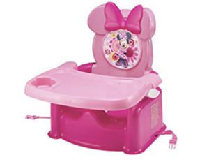 Minnie Mouse booster seat great for high tables for Sale in Chesapeake, VA