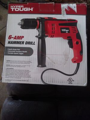 HYPER TOUGH 6-AMP HAMMER DRILL for Sale in Fontana, CA