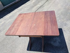Antique folding clawfoot table for Sale in New Bedford, MA