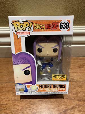 Funko Pop! Dragonball Z Future Trunks Hot Topic Exclusive for Sale in Buena Park, CA