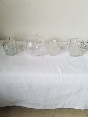 Crystal glassware for Sale in Spencer, WV