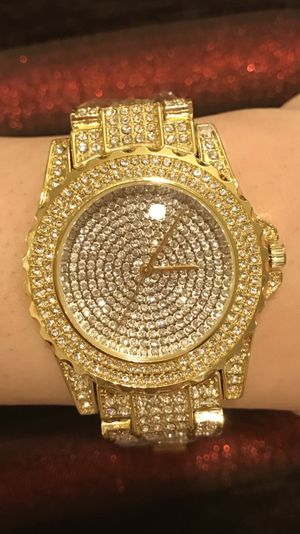 Unisex Gold plated Watch for Sale in Houston, TX