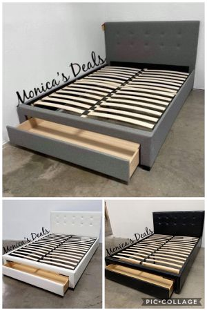 Queen storage bed frame $200 for Sale in Carson, CA