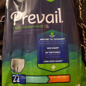 Prevail Small Adult/ Youth Diapers for Sale in Palmdale, CA