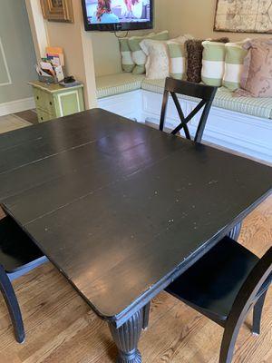 Black Kitchen Table for Sale in Goochland, VA
