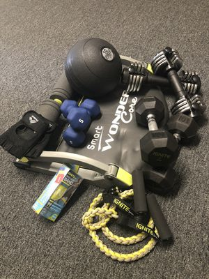 gym equipment for Sale in Lowell, MA