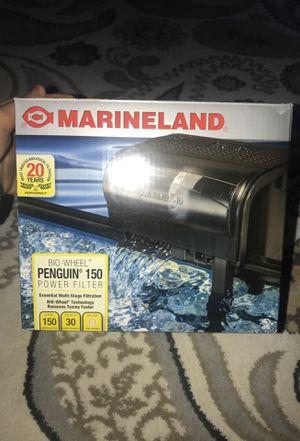 Marineland aquarium filter for Sale in Weymouth, MA