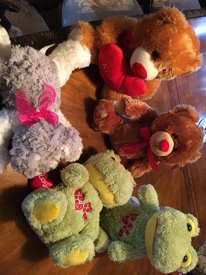 Valentine's Day stuffed animals for Sale in Dover, DE