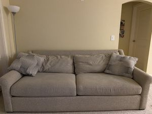 Comfortable couch with pillows for Sale in Norfolk, VA