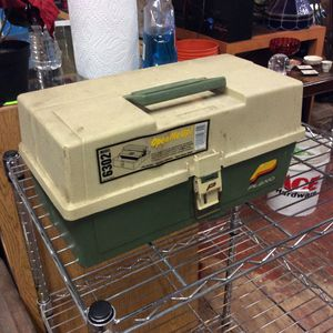 Vintage Plano Tackle Box With Fishing Gear for Sale in Mendon, MA