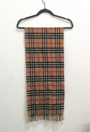 Authentic Burberry scarf for Sale in Los Angeles, CA